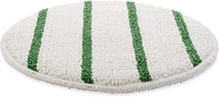 Rubbermaid Commercial Low-Profile Carpet Bonnet with Green Scrubber Strips, 17