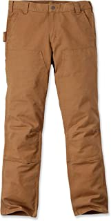 Carhartt Men Pants Stretch Duck Double Front