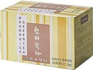 Hankook Tea Brown Rice Green Tea, 25 Count