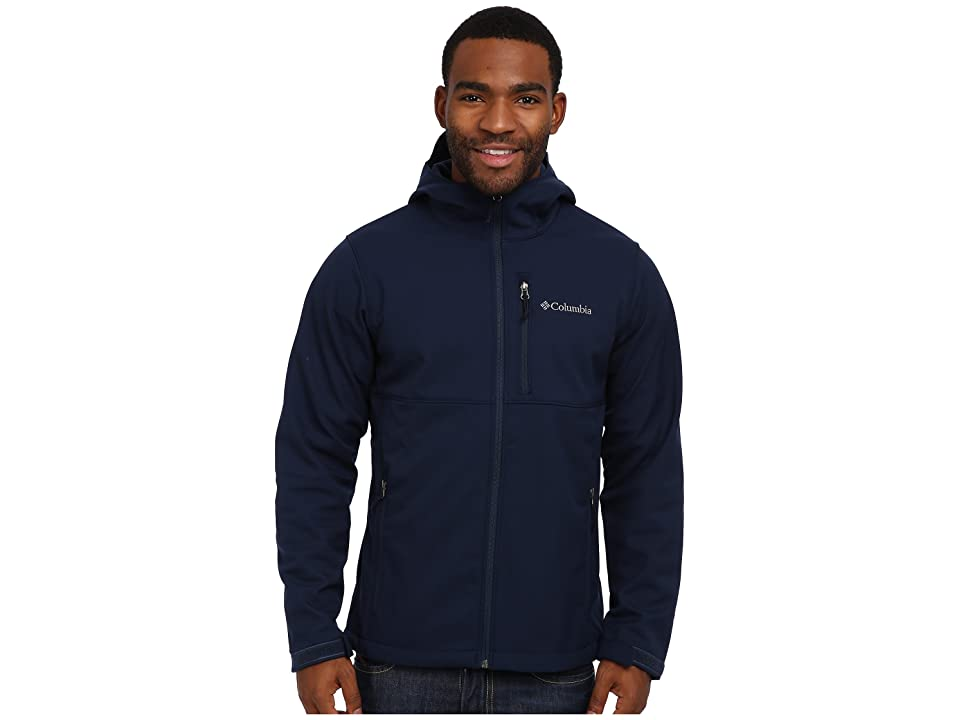 Columbia Ascendertm Hooded Softshell Jacket (Collegiate Navy) Men