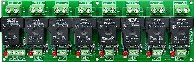 CZH-Labs 12V Passive 8 SPST-NO 30Amp Power Relay Module Board.