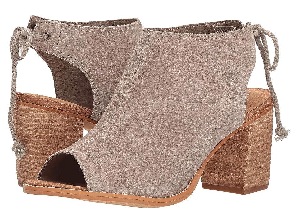 TOMS Elba (Desert Taupe Suede) High Heels