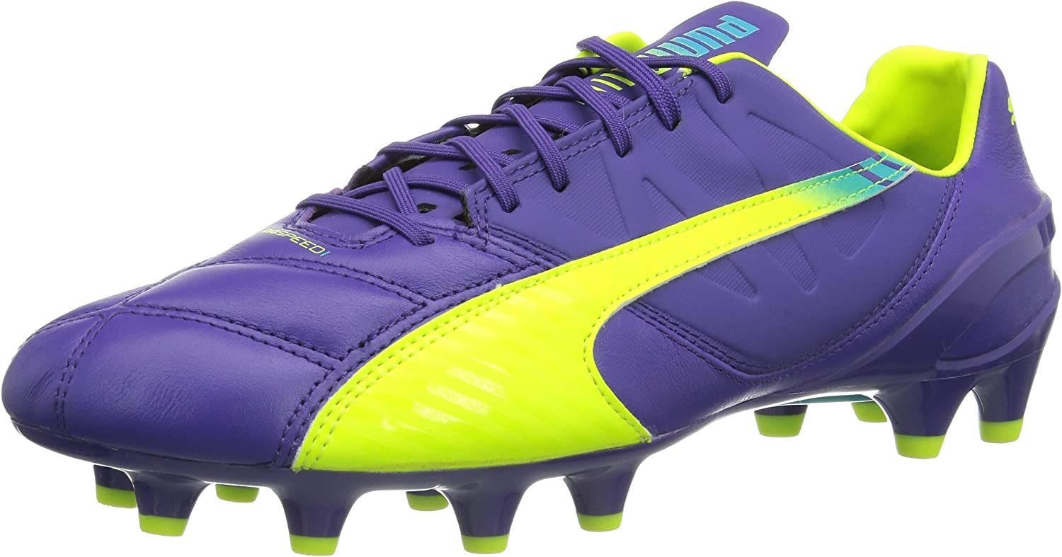 Puma Men's's Evospeed 1.3 LTH Fg Football Boots