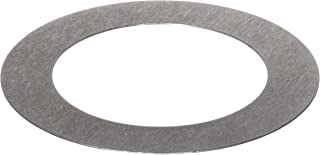 C1008/C1010 Steel Round Shim, Unpolished (Mill) Finish, #1-5 Temper, ASTM A1008/ASTM A1011, 0.003