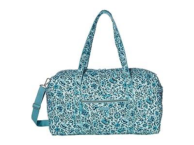 Vera Bradley Large Travel Duffel (Cloud Vine) Duffel Bags