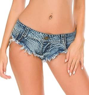Women's Sexy Low Rise Mini Denim Shorts Jeans Hot Pants