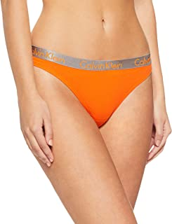 Calvin Klein Women's Logo Cotton Stretch Thong