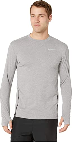 037e3bc0 Nike. Sphere Element Top Crew Long Sleeve 2.0. $37.99MSRP: $75.00.  Gunsmoke/Heather/Reflective Silver
