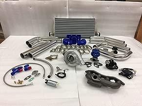 Civic D17 01-05 LX EX VP SOHC T3T4 .63 Turbo Kit Intercooler BOV Manifold