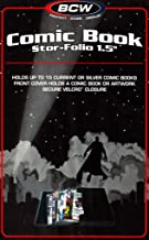 2 Comic Book Stor-Folio 1.5 inch Comic Storage