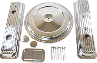 Racer Performance 1988-92 Chevy/GMC 5.0L & 5.7L Truck Chrome Steel Engine Dress Up Kit - Single Wing Nut