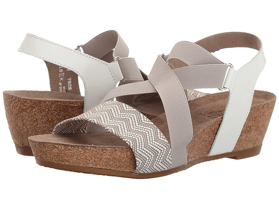 Munro Lido (White/Grey Print) Women