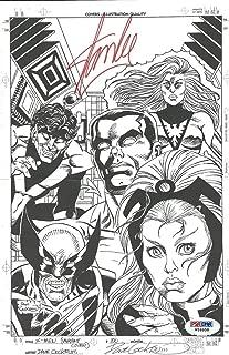 Stan Lee Autographed Signed Memorabilia Dave Cockrum X-Men Comic Variant Cover 6X10 Art Print PSA W59956