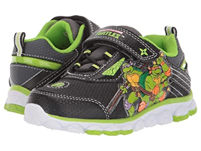 Josmo Kids Ninja Turtle Sneaker (Toddler/Little Kid) (Black/Green 1) Boys Shoes