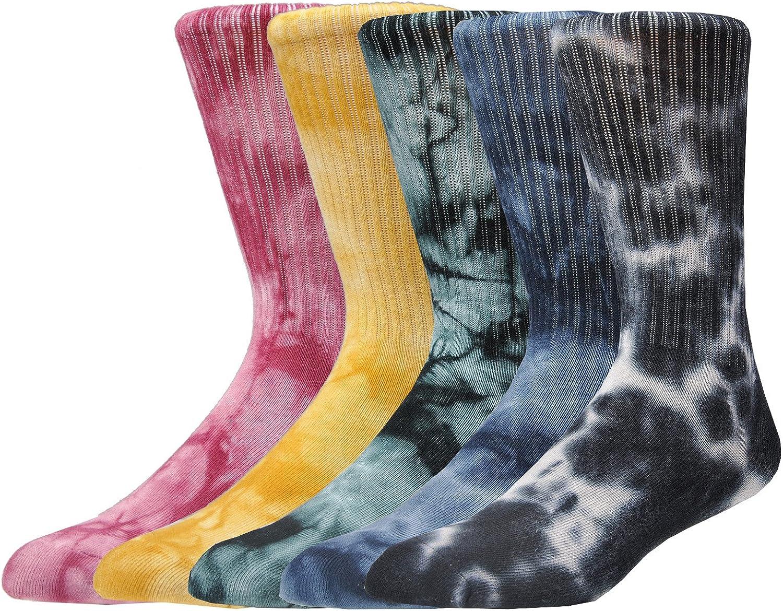Epeius Unisex Tie Athletic Socks Elite Cushioned Crew Socks