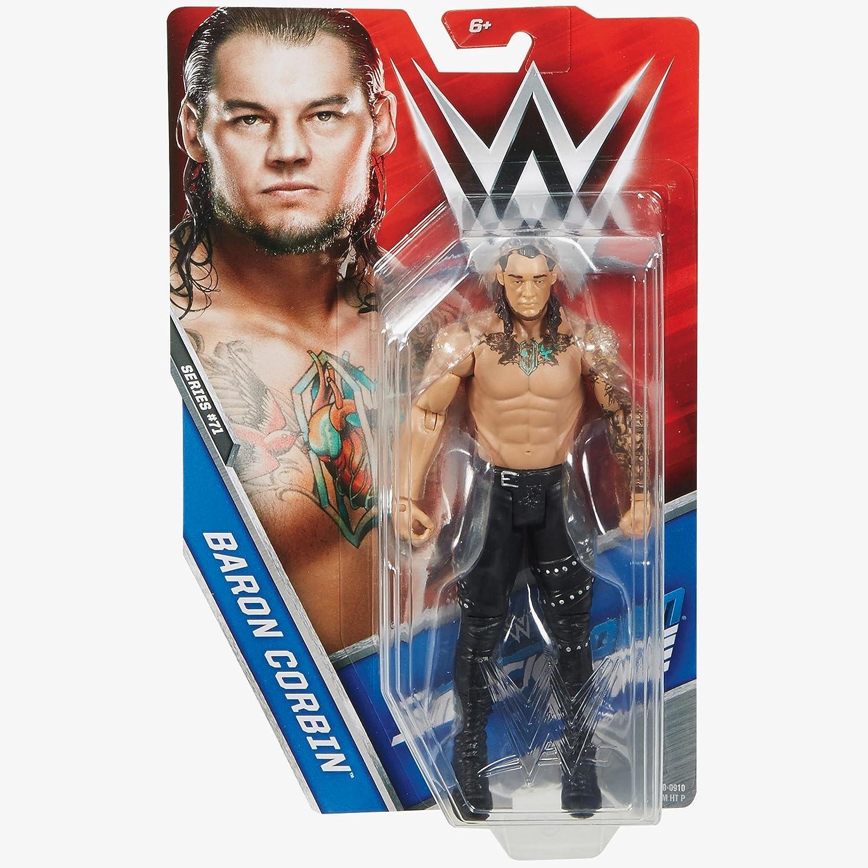 Mattel WWE Basic-Serie 71 Smackdown Baron Corbin Figur