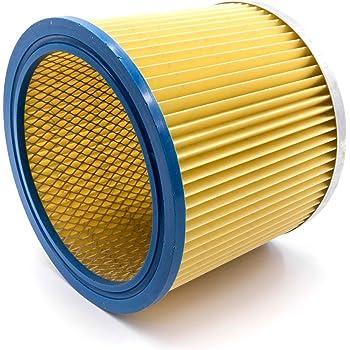 vhbw Filtro redondo/filtro laminado para aspiradoras, robot aspiradora, limpiador multiusos Einhell BT-VC 1250 S, BT-VC 1250 SA, BT-VC 1250-2.: Amazon.es: Hogar