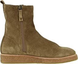 Taupe Waterproof English Suede
