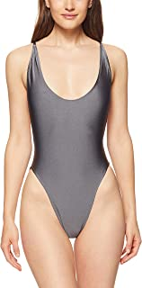 Lioness Women's The COTE DAZURE One Piece, Charcoal
