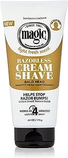 Soft Sheen Carson Magic Razorless Shave Cream, Smooth For Men 6 oz