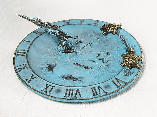 铜水盆蜂鸟鸟喂食器日规多功能带月小乌龟