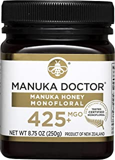 Manuka Doctor MGO 425+ Monofloral Manuka Honey, 8.75 Ounce