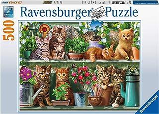 Ravensburger 14824 - Cats on The Shelf Jigsaw Puzzle 500pc