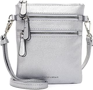 Emily & Noah Umhängetasche Emma 60392 Damen Handtaschen Uni platin 270 One Size