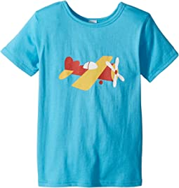 4Ward Clothing - PBS KIDS® - Sky Graphic Reversible Tee (Toddler/Little Kids)