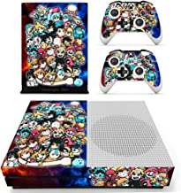 Decal Moments Xbox One S(Slim)Console Skin Set Vinyl Decal Sticker Protective for Xbox One S(Slim) Console Controllers Anime