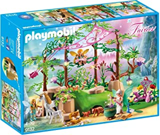 PLAYMOBIL Magical Fairy Forest Playset, Multicolor (Renewed)