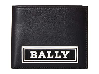 Bally Bollen Bifold Wallet (Black) Handbags