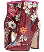 Dolce & Gabbana Laminato Leather Bootie