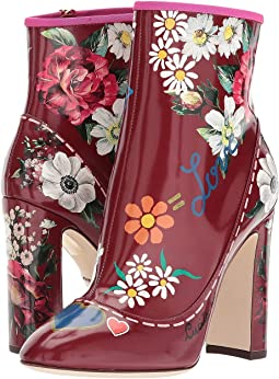 Dolce & Gabbana - Laminato Leather Bootie