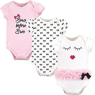 Little Treasure Baby-Boys Cotton Bodysuits Short Sleeve T-Shirt Set