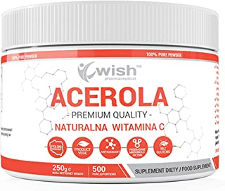 Wish Pharmaceutical Acerola (Vitamina C Natural) Paquete