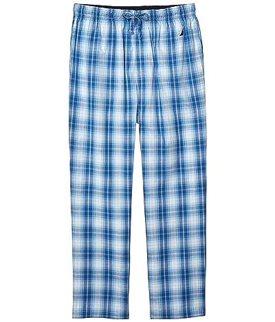 Nautica Sleep Plaid Pants (Light Haze) Men