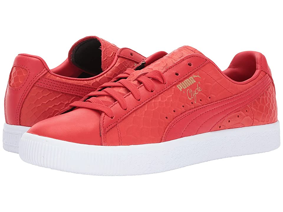 PUMA Clyde Dressed (High Risk Red) Men