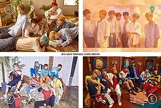 Bangtan Boys BTS - Love Yourself 承 [Her] Unfolded Official Poster (L.O.V.E Versions)