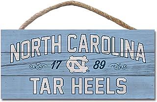 One Size Wood NCAA Legacy North Carolina Tar Heels Mini Table Top Stick 2.5x6