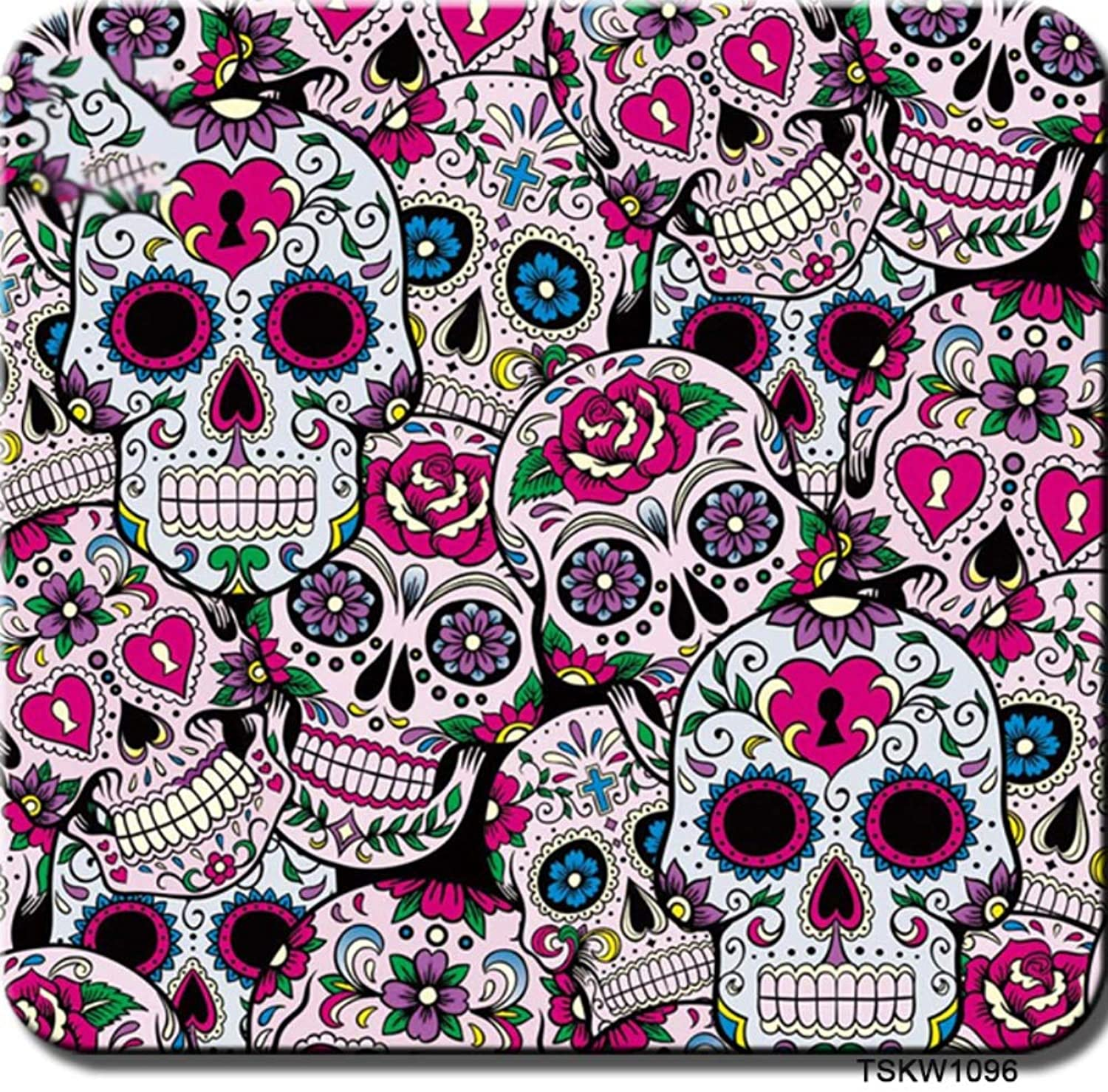 Hydrographics Film Water Transfer Printing Film, Hydrographic Film  Hydro Dipping FilmZombie Skull pattern1.0Meter Multicolor Optional Used for Auto Parts, Cups, Sporting Goods, and Many More  E