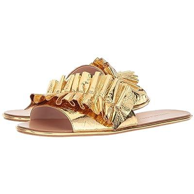 Loeffler Randall Rey (Gold Metallic Foil Leather) Women