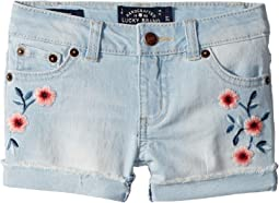 Lucky Brand Kids - Bobbi Denim Shorts in Bella Wash (Toddler)