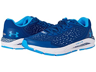 Under Armour Kids HOVR Sonic 3 (Big Kid) (Graphite Blue/White/Electric Blue) Boys Shoes