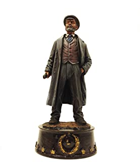 Military-historical miniatures V. I. Lenin (Ulyanov) Hand Painted Tin Metal 54mm Action Figures Toy Soldiers Size 1/32 Scale for Home Décor Accents Collectible Figurines Item #S09