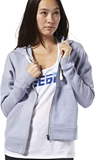 ريبوك هوديز للنساء , ازرق فاتح - مقاس XL