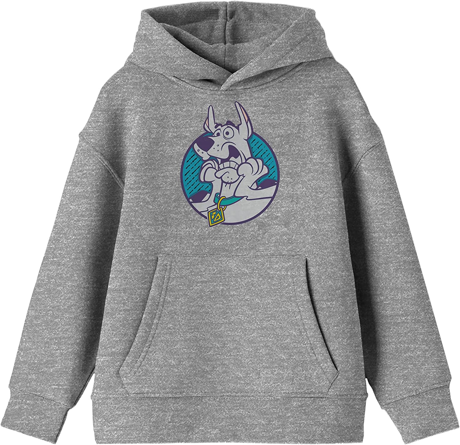Superlatite Youth Boys Scooby Doo Character Scared Grey Max 74% OFF Hooded Heather Sweat