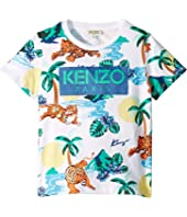 Kenzo Kids - All Over Printed Summer Tee (Little Kids)