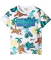 Kenzo Kids - All Over Printed Summer Tee (Little Kids)