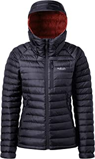 RAB Womens Microlight Alpine Jacket Steel/PASSATA (UK12)